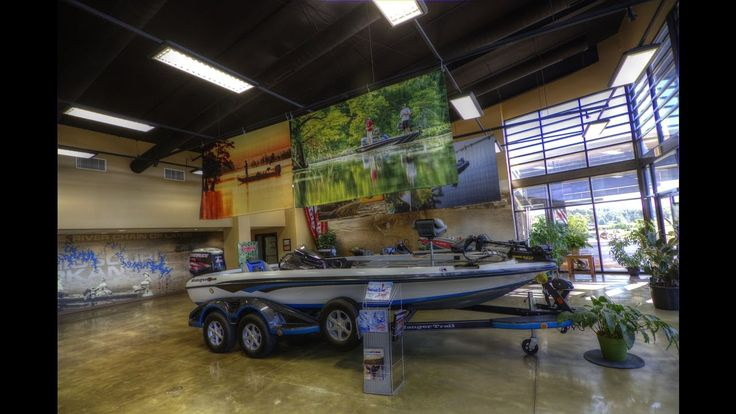 Touring Ranger Boats plant and custom Ranger Trail trailers with Ed Miller