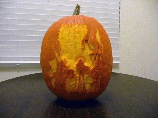 546 Elképesztő és kreatív Halloween tökök a videojátékok szerelmeseinek
