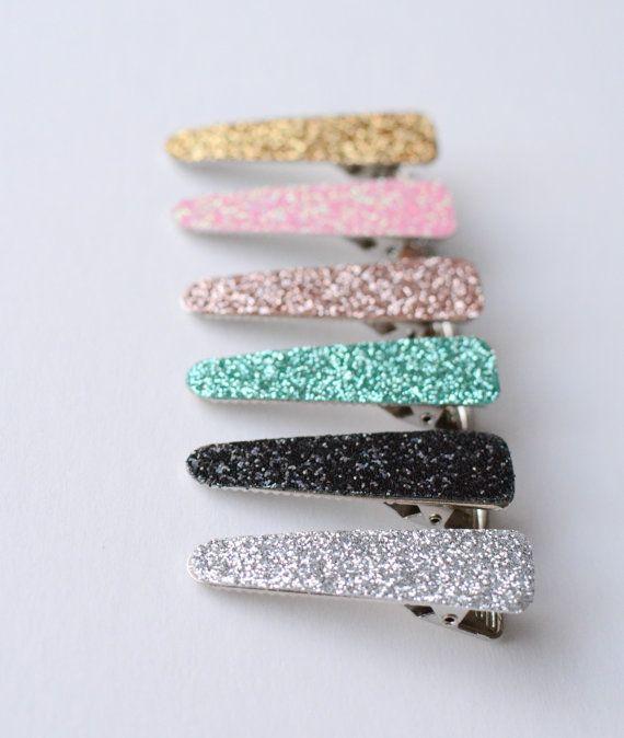 Baby Glitter Hair Clips - Toddler Glitter Hair clips, choose your own hair clips for baby, toddler, adult