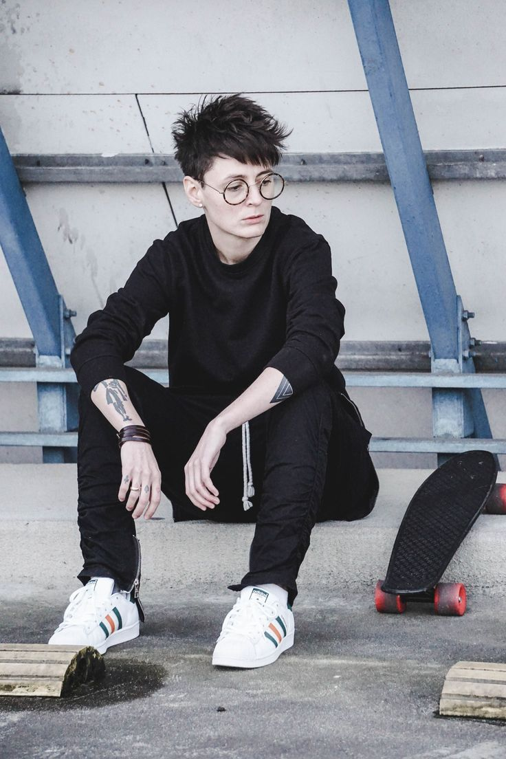 all black outfit #androgynous #androgyny #tomboy #blacklove #ootd #ootdformen #outfits #outfitoftheday #outfitideas #menswear #mensfashion #menstyle #menshair #menshoes