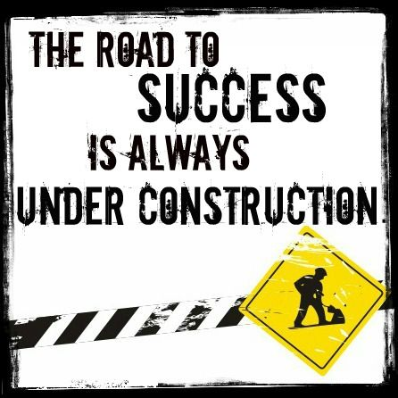 Under Construction #motivation #success #quotes