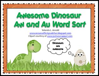 37 best aw au o images on pinterest vowel digraphs word games