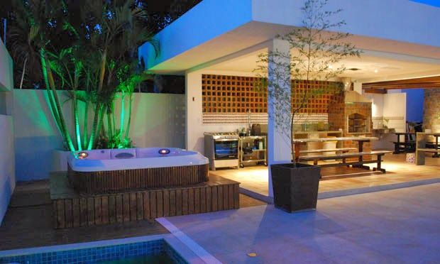 Lighting design in the decoration – see environments and tips!  – Área Externa Casa