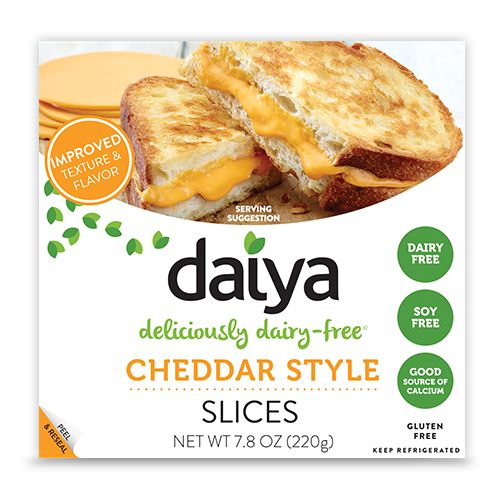 Cheddar Style Slices - Daiya Foods, Deliciously Dairy-Free Cheeses, Meals & More
