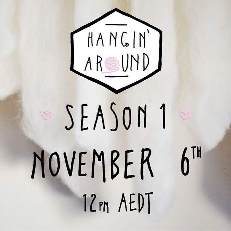 LAUNCH DATE ANNOUNCEMENT  hello beautiful people! guess what? the time has finally come - hangin' around will be launching on the 6th NOVEMBER - get it in your calendars!  not long now... link in bio!  #hanginaround #hanginaroundtextiledesign #launchdate #comingsoon #textiles #batd #organic #sustainablefashion #sustainable #ethical #ethicalfashion #weaving #weaverfever #knit #print #handmade #maker #melbourne