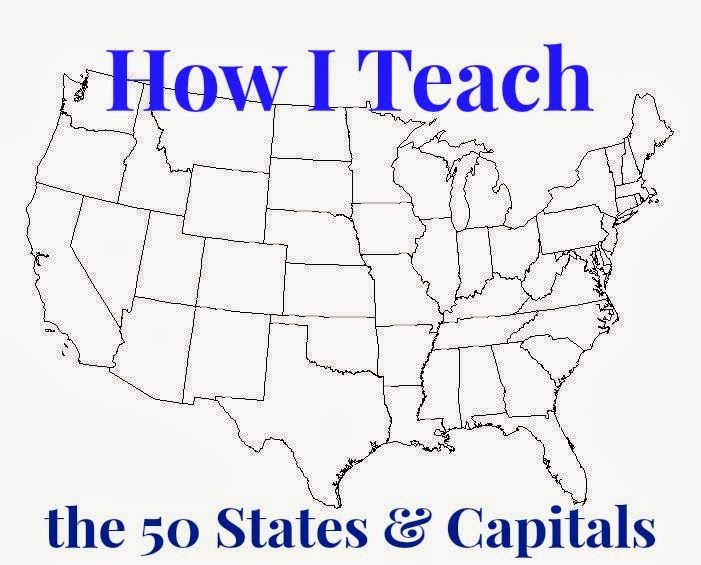 Learning the 50 States, their Capitals, and their Map Locations