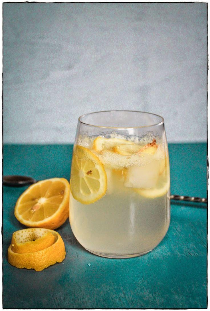 Gin in the Basement: Klassischer Gin Fizz mit Ingwer.