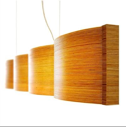 Raita lamp, Nolla Nolla Oy. Horizontal calmness and smooth light.