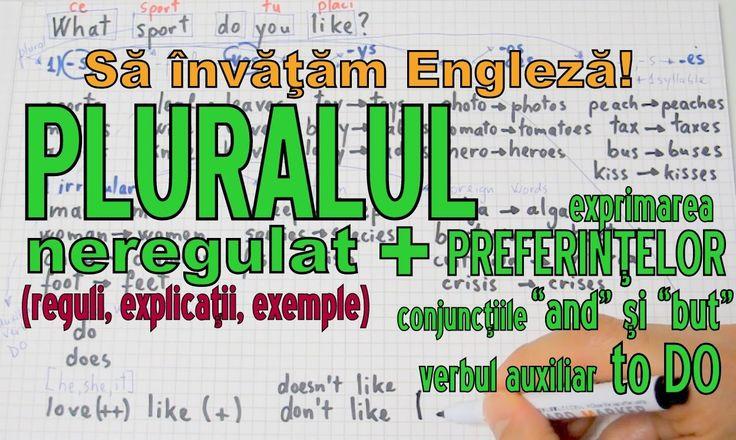 Sa invatam engleza - PLURALUL (part 2) - Let's Learn English