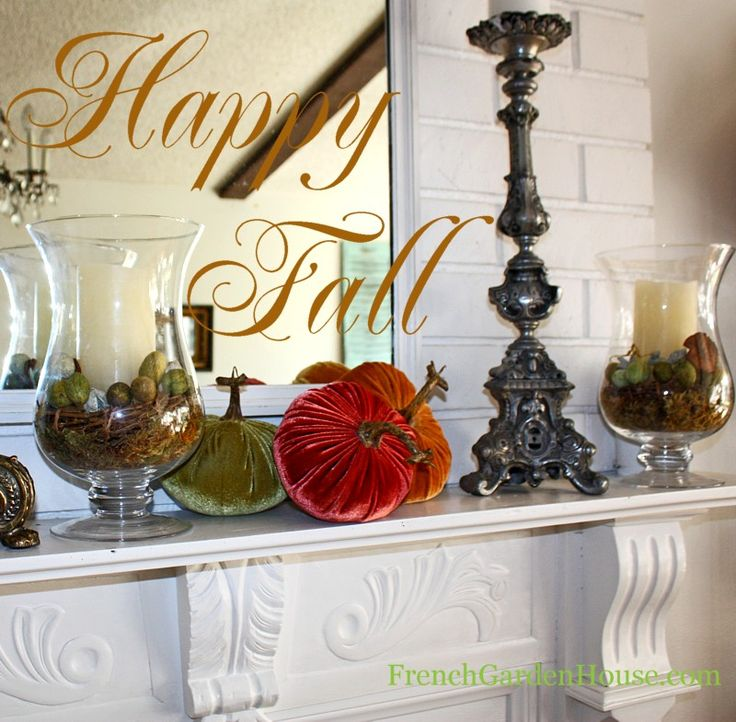 Fall Centerpiece Floating Candle Ideas: 1000+ Ideas About Fall Candle Centerpieces On Pinterest