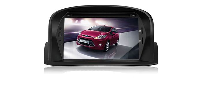 MTK3360 faster speed 512Mb RAM WINCE 6.0 car DVD player 1080P gps fit for Ford Fiesta 2013 2014 2015  bluetooth map camera