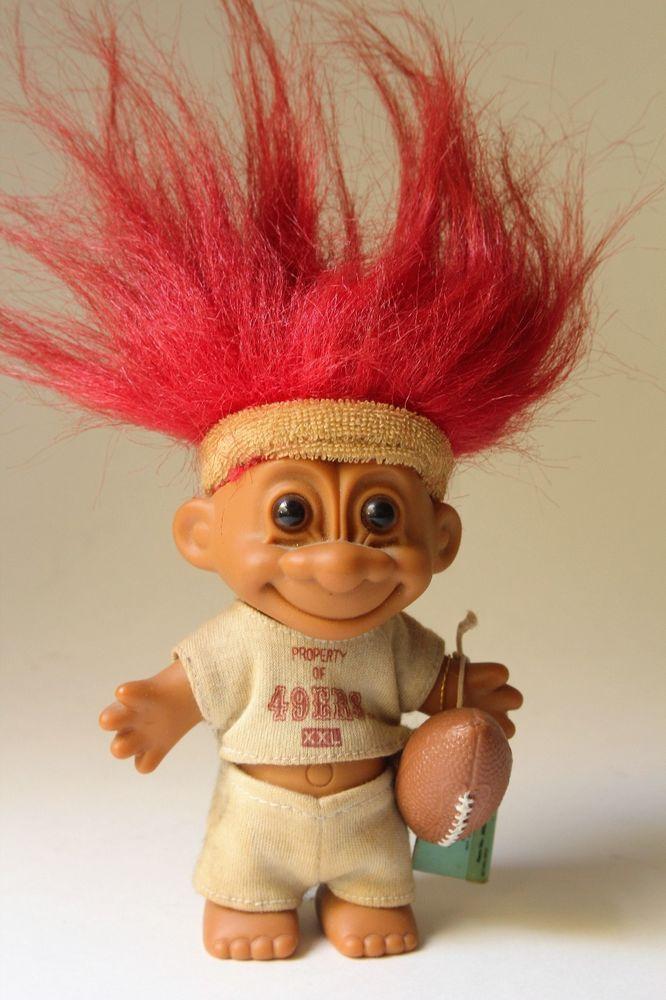 San Francisco 49ers 1991 Russ Good Luck Troll Doll Niners Tagged Sweat Band    eBay