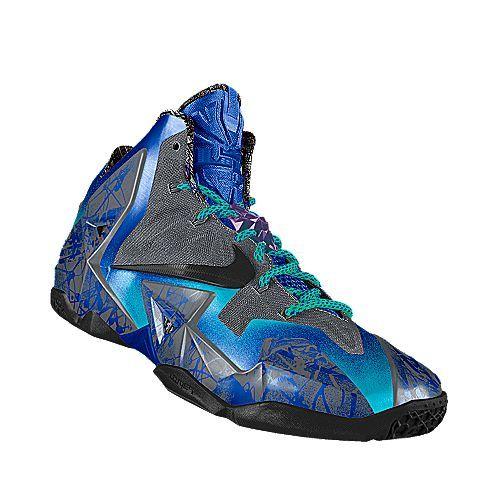 I designed this at NIKEiD Lebron Nike Comfortable Shoe Size 13