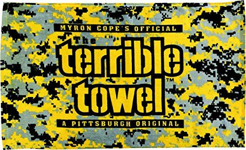 Pittsburgh Steelers Digital Camo Terrible Towel