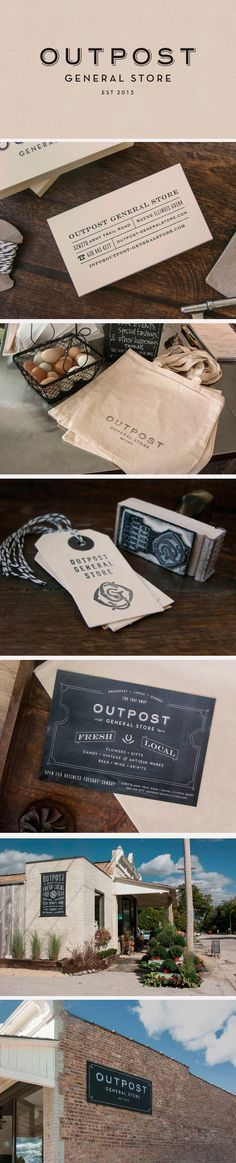 identity / outpost general store – Design Pack