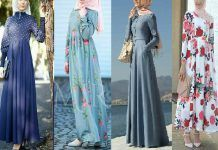 Hijab mode 2017 : 55 robes longues pour femme voilée chic et élégantes pour votre inspiration