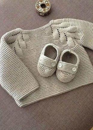Детский пуловер спицами-ОПИСАНИЕ!