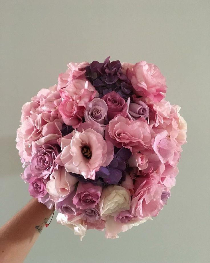 CBR452 wedding Riviera Maya pink and lilac flowers for bride bouquet/ ramo de novia con flores rosas y lilas