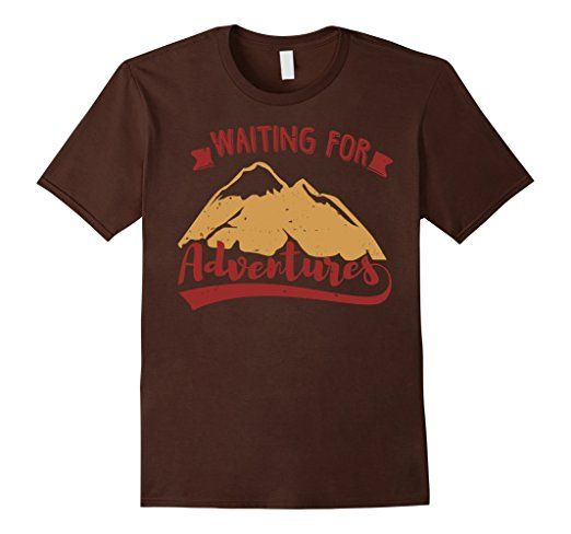 Amazon.com: wating for adventures tshirt: Clothing