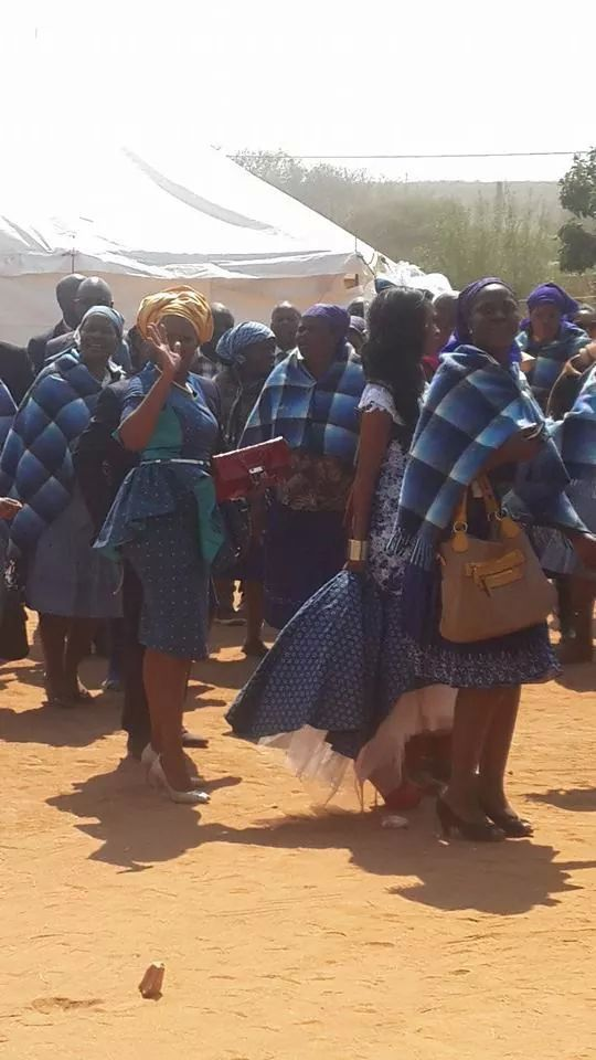 Tswana wedding