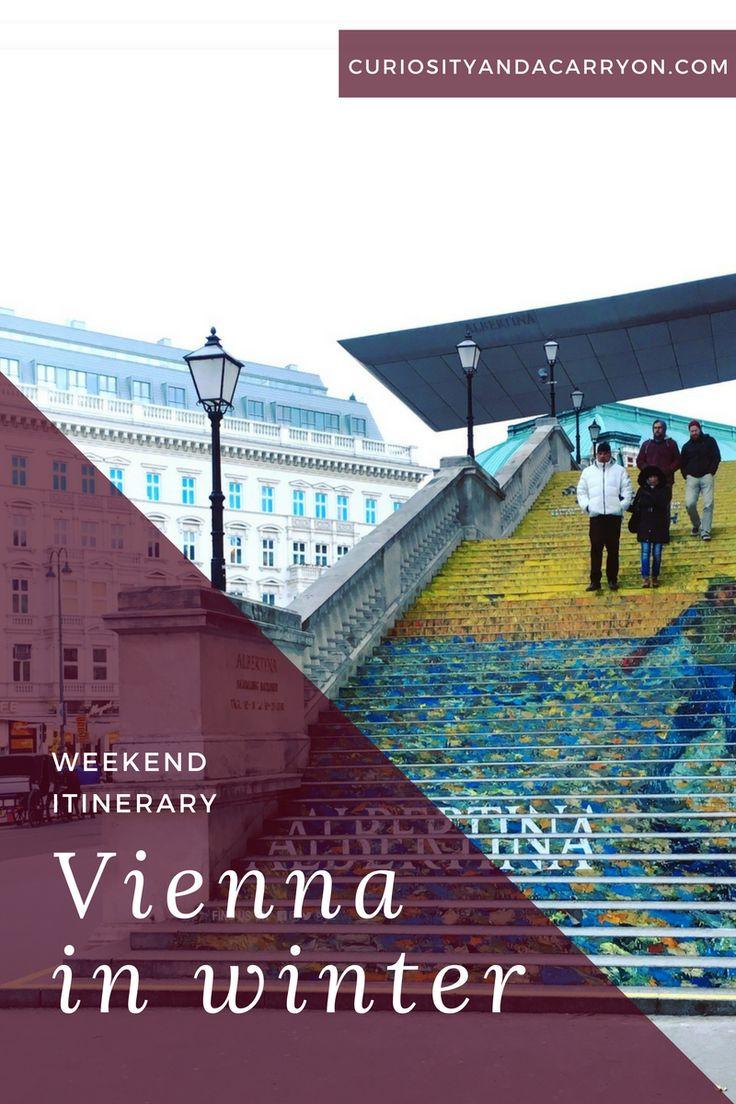 Winter in Vienna | Vienna Weekend Itinerary | What to see, do, eat and drink in Vienna | Vienna, Austria Travel