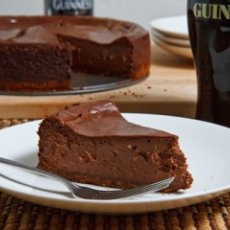 Guinness Chocolate Cheesecake | Terrific CHEESECAKES | Pinterest