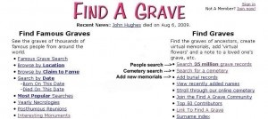 Find A Grave Tutorial