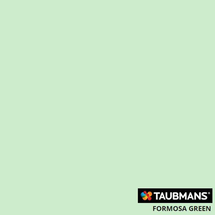 #Taubmanscolour #formosagreen