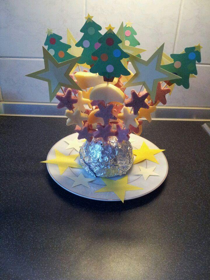 Kersthapje voor kerstdiner groep 1