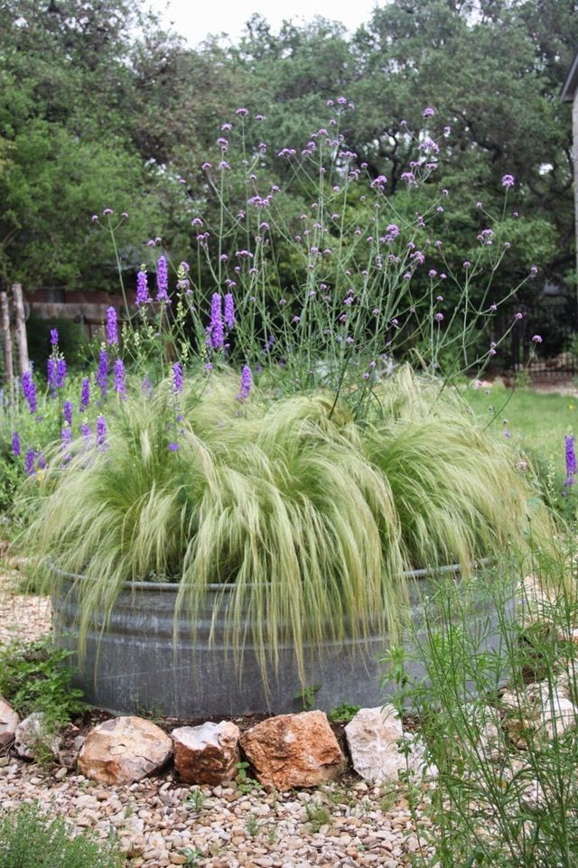 zinc bath planter