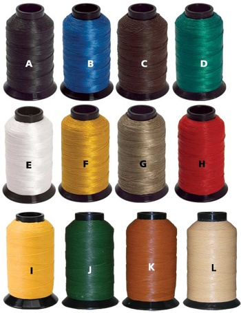 Brownell B-50 Dacron Waxed Bow String Material. 2 1/4# spools in colors J