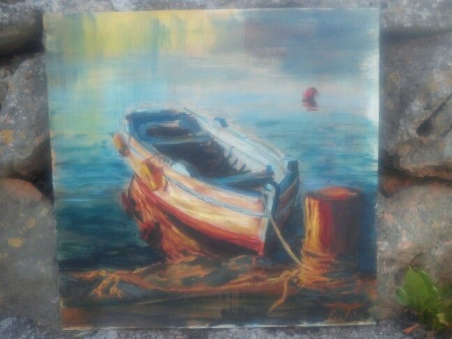 Latest painting Oil on Board