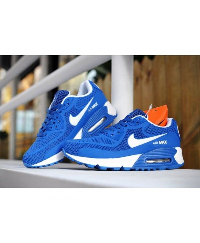 best service 0fa89 3fc3d Kids Nike Air Max 90 Diamond Blue 6809331-032