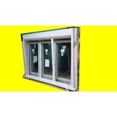 Fenêtre ALPHACAN PVC 3 vantaux + dont 1 oscillo battant volet électrique NEUF L2,21xH1,72 m magic affairesb6