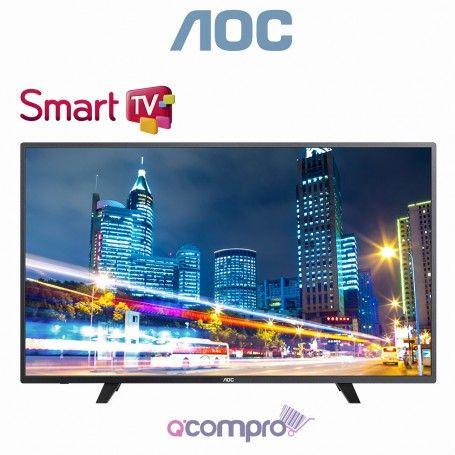 """AOC LED Full HD 55"""" Smart TV  #AOC"""