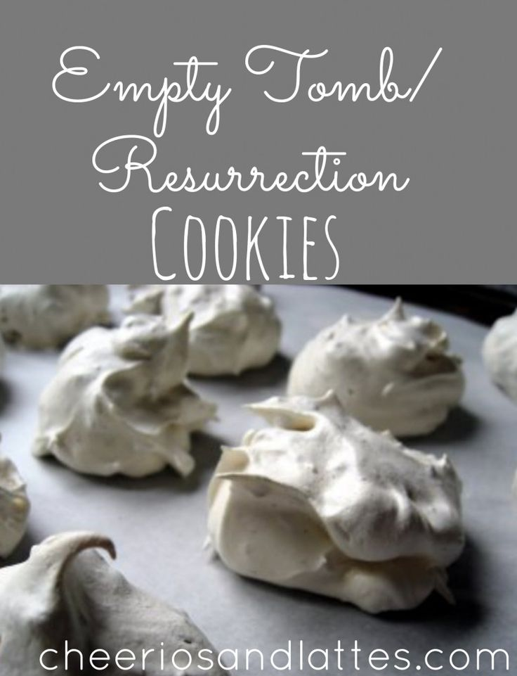"Easter Object Lesson for kids. Strong Armor: Easter Story Cookies ""Resurrection Cookies"""