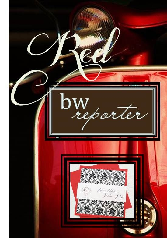 Red Themed Invitations www.bwreporter.com.au