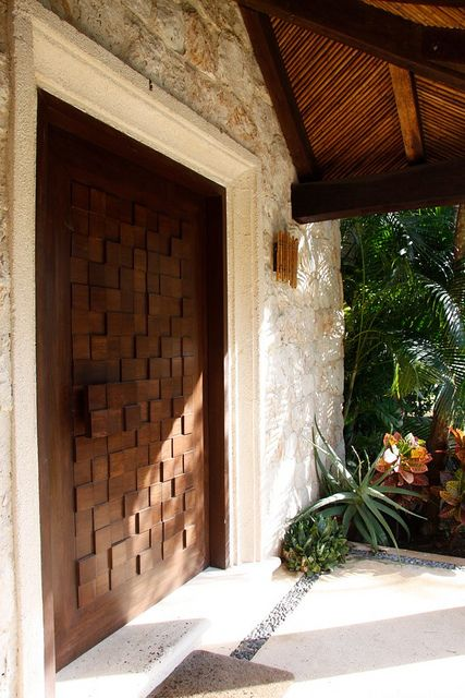 custom door design | Flickr: Intercambio de fotos