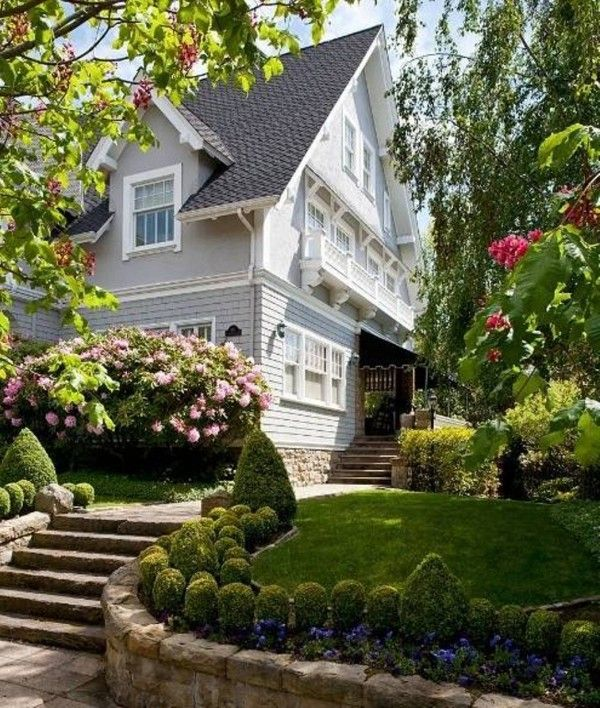 Lawn Begone 7 Ideas For Front Garden Landscapes: 43 Best Images About Front Yard Landscaping On Pinterest