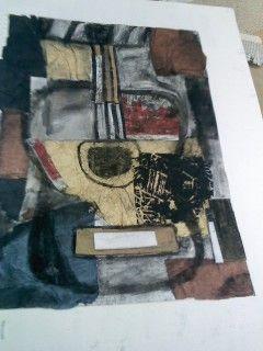 collage guitar