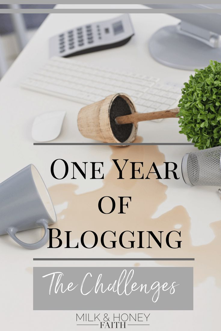 The challenges in my first year of Christian Blogging have not been easy but Christ has sustained me through it all. Milk & Honey Faith. Christian Blogging