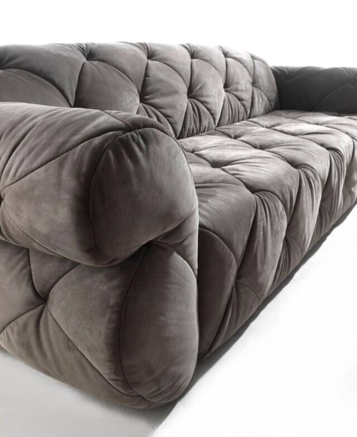 Nabuk sofa Paramount by modacollection