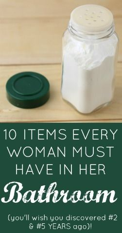 10 Item Every Woman MUST have in her bathroom! (you'll wish you discovered #2 & #5 YEARS ago...) Butter Nutrition