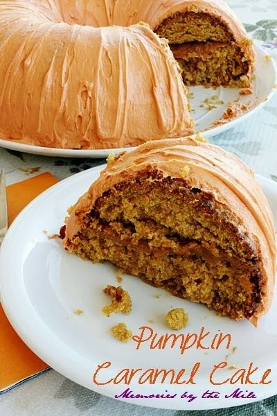 Moist-Delicious-Pumpkin-Caramel-Cake