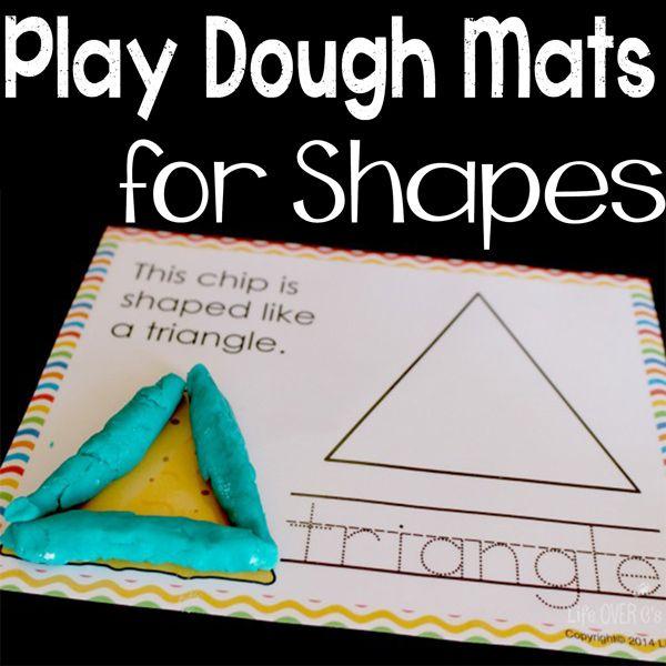 jugar esteras de masa para las formas