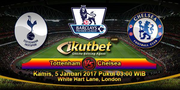 Prediksi Tottenham vs Chelsea, Starting Lineup Tottenham vs Chelsea, Data dan Fakta Pertandingan Tottenham vs Chelsea yang akan berlangsung pada hari Kamis, 5 Januari 2017 Pukul 03:00 WIB langsung dari White Hart Lane, London.