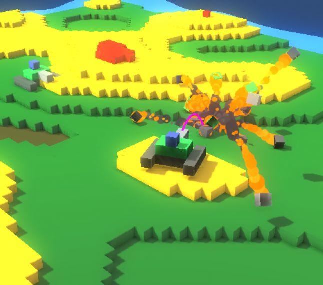 Gamasutra: Trent Polack's Blog - Block Tanks: #Procedural Dynamism in #Unity3d #games