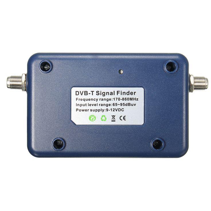 SF95DT DVB-T Finder Digital Antenne terrestrische TV-Antenne Signalstärke Zähler Kompass