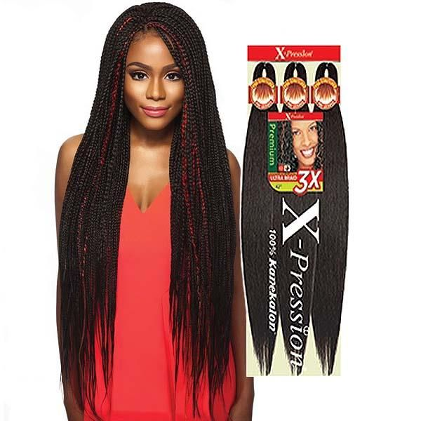 Outre Synthetic Pre Stretched Crochet Ultra Braid Xpression 3x