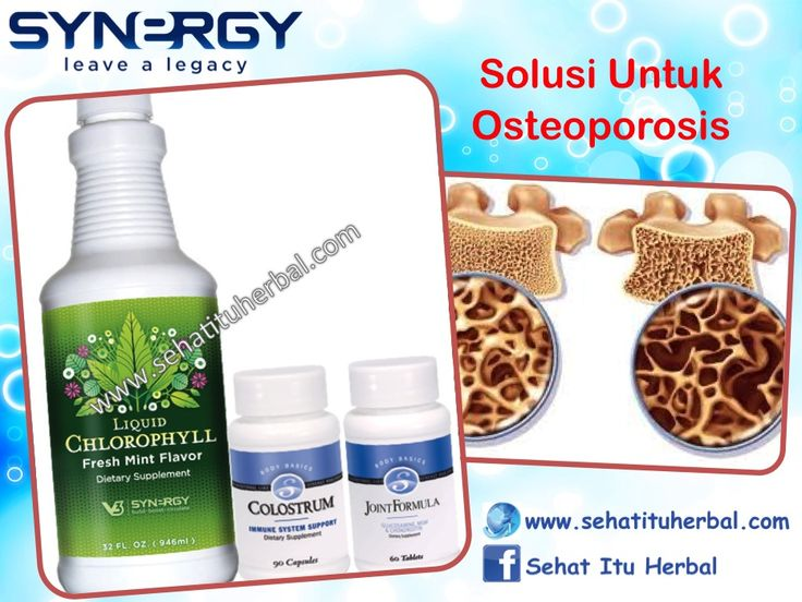 Solusi Untuk Osteoporosis (Pengeroposan Tulang) - Sehat Itu Herbal